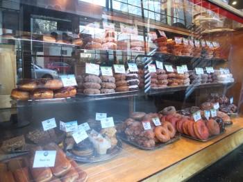 Top Pot 5th Avenue Donut Display