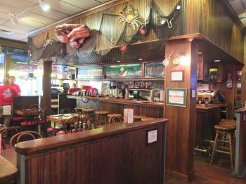 Crab Pot Entry and Bar