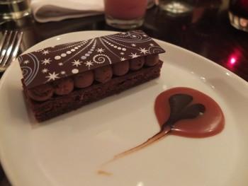 Pomegranate Bistro Chocolate Praline Crisp