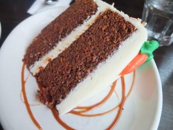 Dilettante Mocha Cafe Carrot Cake