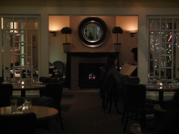 Papa Haydn NW Fireplace Dining