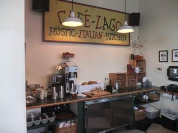 Cafe Lago Signage