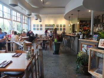 Cafe Flora Inside Left