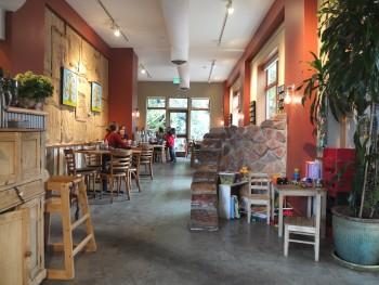 Cafe Flora Straight Ahead