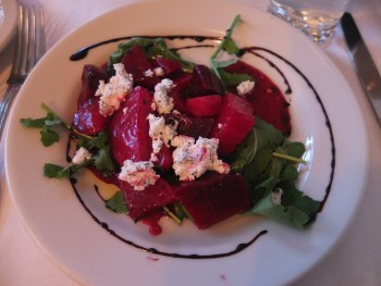 Cafe Lago Roasted Beets