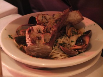 Cafe Lago Clam Pasta