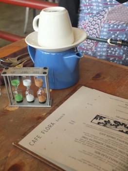 Cafe Flora Menu & Tea