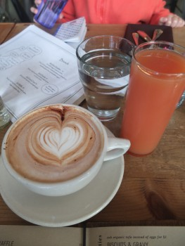 Cafe Flora Beverages