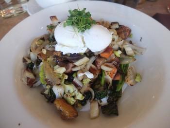 Cafe Flora Veggie Platter