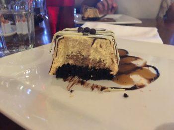 Stumbling Goat Chocolate Caramel Cake Inside