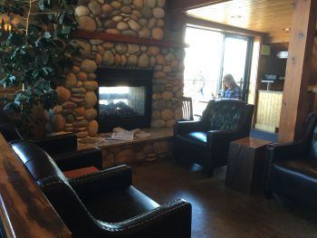 The Woods Coffee Boulevard Park Cozy Fireplace