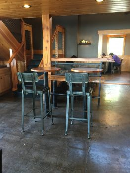 The Woods Coffee Boulevard Park Bar Seats