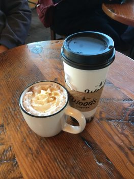 The Woods Coffee Boulevard Park Beverages