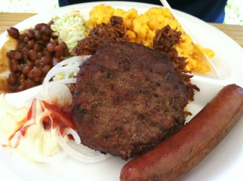 Chris's Plate from Beefalo Bobs