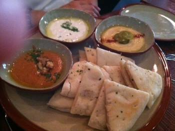 Flat Bread and Dips