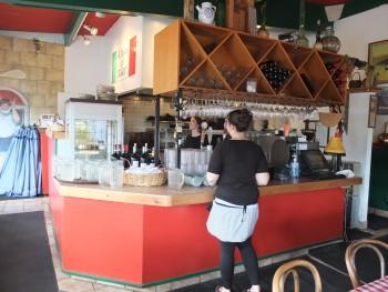 That's a Some Italian Ristorante Kitchen