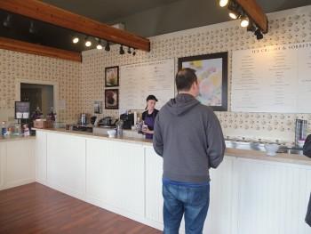 Mora Iced Creamery Inside