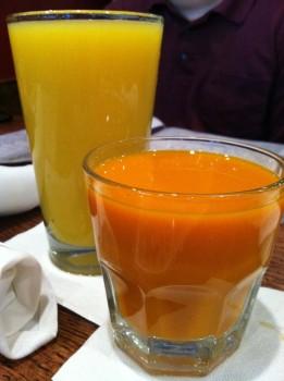 Carrot & Orange Juices