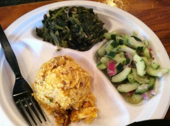 Sides with Cucumber Salad