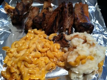 Texas BBQ Pork Ribs Dinner