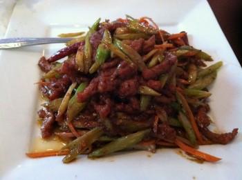 Beef at Hunan