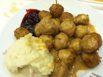 Meatball Dinner Plate
