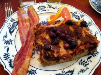 Homemade Blueberry French Toast