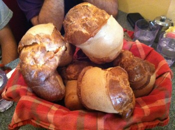 Basket of Popovers