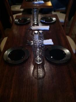 Cafe Shiraz Tablescape