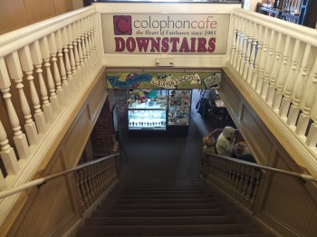Colophon Cafe Downstairs