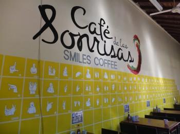 Sonrisas Wall of Signs