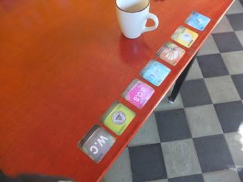 Sonrisas Table Signs