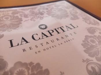 La Capital Menu
