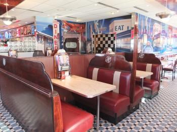 Silver Diner Inside