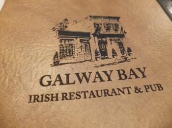 Galway Bay Menu