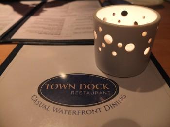 Town Dock Menu