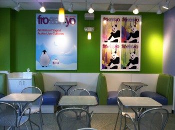 Fro Yo Seating