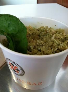 Spinach & Pesto