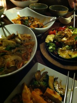 Dinner at Mandu