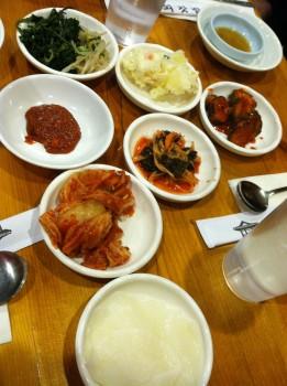Korean BBQ Kim Chee