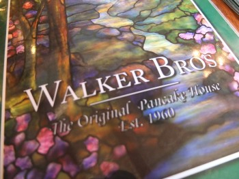 Walker Bros Menu
