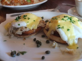 Walker Bros Crab Benedict