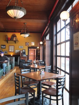 Firehouse Grill Interior