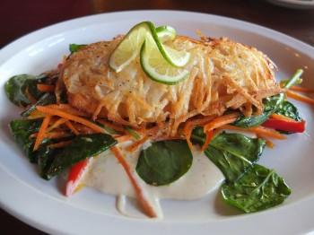 Potato Crusted Salmon