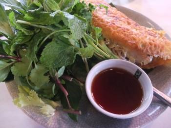 Long Vegetarian Crepe