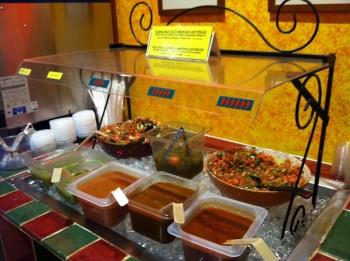 Taco Lobo Salsa Bar
