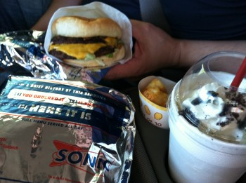 Sonic Meal-in-a-Car