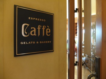 Caffe Signage
