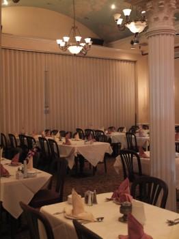 Caspian Dining Columns