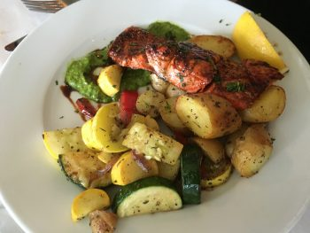 Guiseppe's Grilled Salmon & Veggies